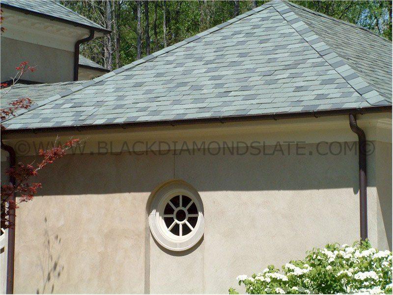 Augusta Green Black Diamond Slate