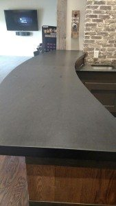 Dover Black Slate Counter Top