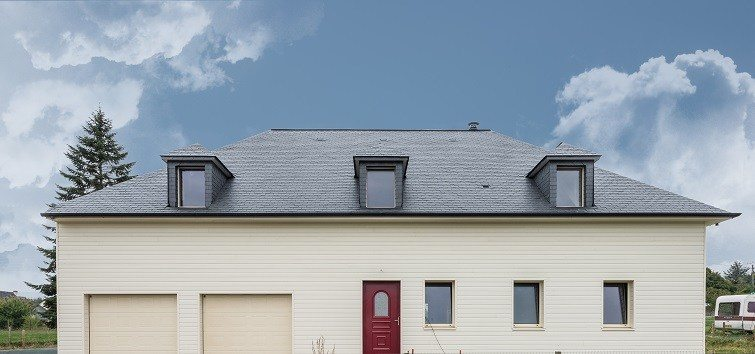 installed ThermoSlate slate tile