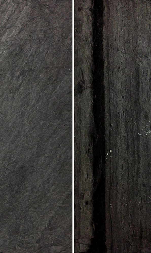 Vermont Black Slate : Vermont black and gray diamond slate