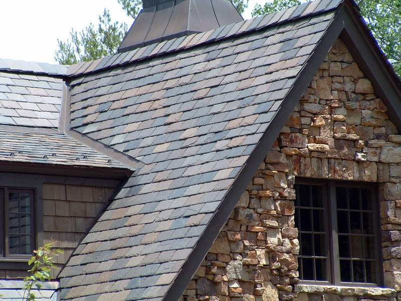 Vermont Clear Black Black Diamond Slate