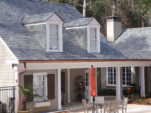 Randall House Black Diamond Slate Tile Amp Roofing