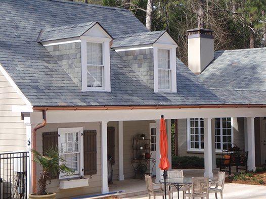 Randall House Black Diamond Slate Tile Amp Roofing