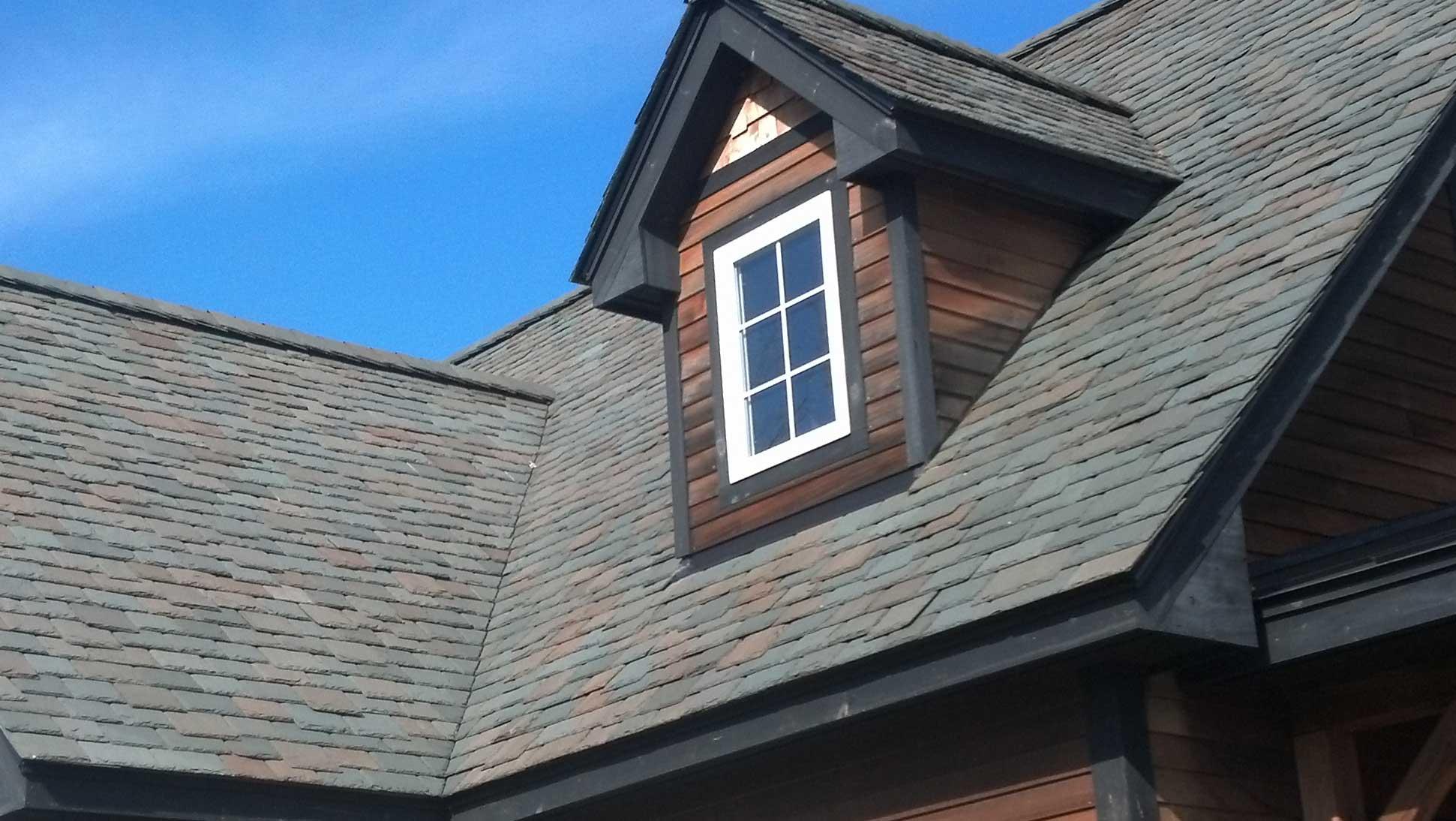 Vermont Semi Weathering Gray Black Diamond Slate