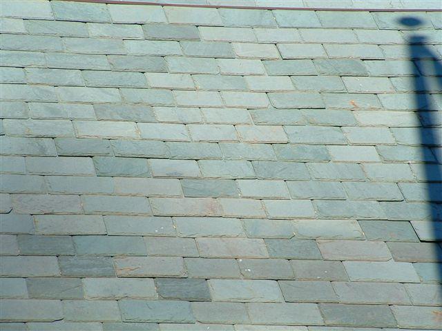 Unfading Black Slate : Vermont unfading grassy green black diamond slate